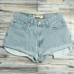 Vintage Levi's 505 Cutoff High Waisted Shorts